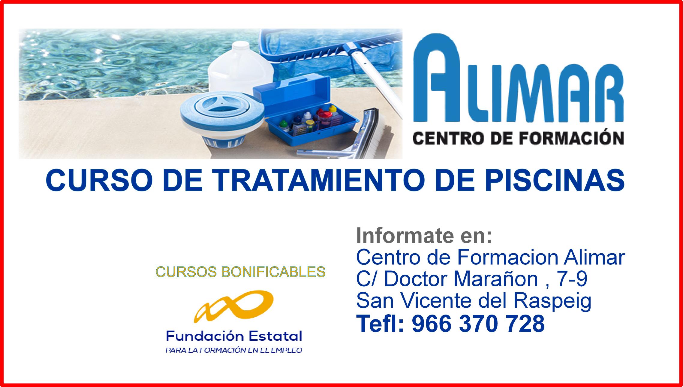 Autoescuela alimar la mejor autoescuela de alicante - Curso mantenimiento de piscinas ...